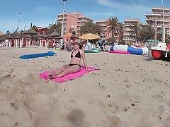 Amateur German Outdoor Beach Teen