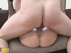 Babe Big Tits Blowjob Casting Secretary