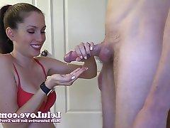 Amateur Blowjob Brunette Handjob Hardcore