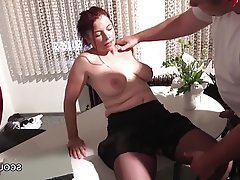 German Hardcore Lingerie MILF Old and Young