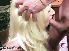 Blonde Blowjob Hardcore Old and Young Teen