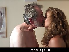 Blonde Blowjob Cunnilingus Old and Young