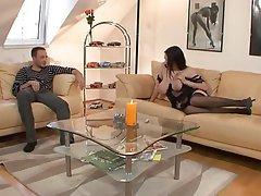 Big Boobs Brunette German Hardcore Stockings