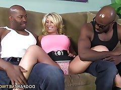 Anal Big Boobs Creampie Interracial Threesome