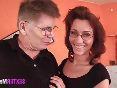 Old and Young Amateur German Hardcore Mature