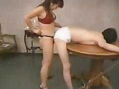 BDSM Femdom Anal Strapon