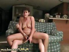 Amateur Mature MILF Wife Homemade