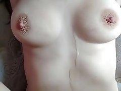 Amateur Cumshot Redhead Big Nipples