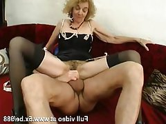 Amateur Anal Stockings French Granny