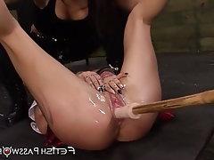 Lesbian Teen Bondage