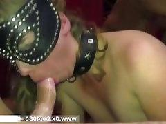 Amateur MILF Double Penetration French Gangbang