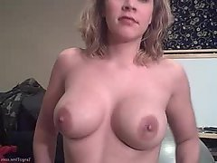 Amateur Big Tits Blonde Blowjob Girlfriend