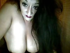 Amateur Big Boobs Brunette Stockings Webcam