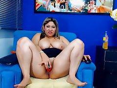 Bbw huge tits teasing