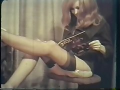 Hairy Redhead Stockings Vintage