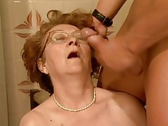 BBW Big Boobs Blowjob Granny Old and Young