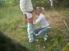 Babe Blonde Blowjob Cumshot Old and Young