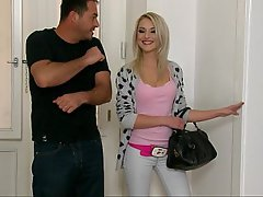 Blonde Whore Reality Teen