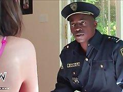 Babe Brunette Interracial Teen