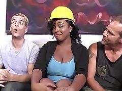 Babe Big Boobs Group Sex Interracial